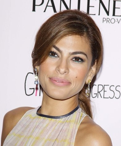Eva Mendes arrives at the Los Angeles special screening of &#39;Girl In Progress&#39; held at DGA Theater on May 2, 2012 in Los Angeles -- Getty Images