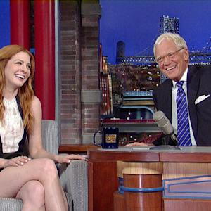 Rachelle Lefevre Turns Red
