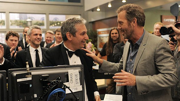 'House' Star Hugh Laurie and Creator David Shore on Its 8-Season Run: 'Feel Sorry For the Two of Us'