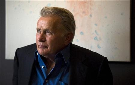 "U.S. actor Martin Sheen poses for a portrait to promote the film ""The Way"" during the 35th Toronto International Film Festival"