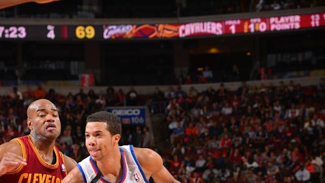 Turner, Wroten lead Sixers over Cavs 94-79