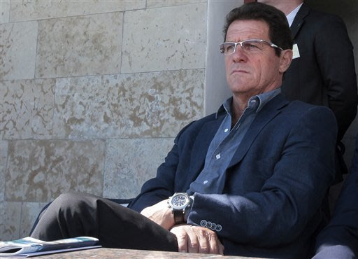 Capello signs 2-year contract as Russia coach