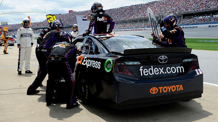 Hamlin returns to track at Talladega