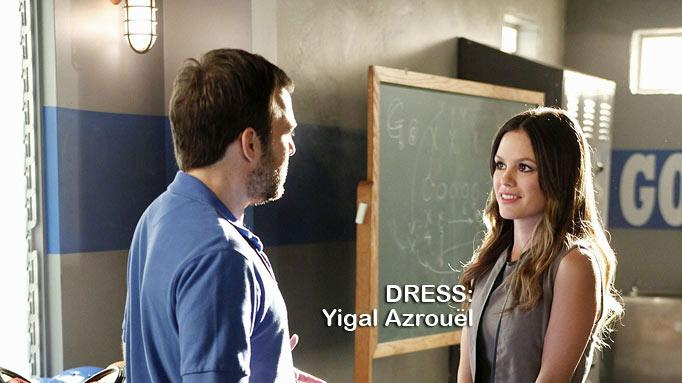 "Kevin Berntson as Coach Scott and Rachel Bilson as Dr. Zoe Hartin in the Season 1 episode ""The Crush & The Crossbow."" Hart of Dixie"
