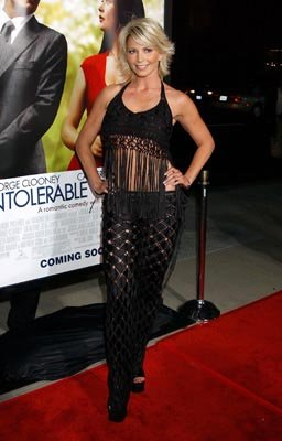 Tamie Sheffield at the LA premiere of Universal's Intolerable Cruelty