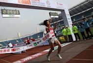 File picture. Beijing marathon organisers have reversed a decision to refuse Japanese runners, reports said. Japanese runners had been barred from taking part in the November 25 event due to concerns for their safety as tensions between the two countries ran high over a territorial dispute