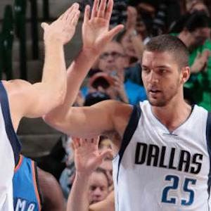 Nowitzki and Parsons Combine for 56