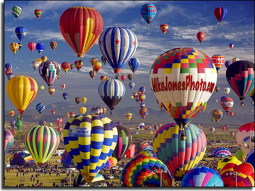Albuquerque International Balloon Fiesta - Oct 6 - 14