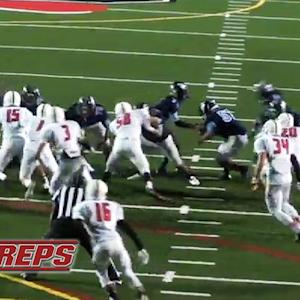 Trick play where QB hands off to OL for TD run - #MPTopPlay