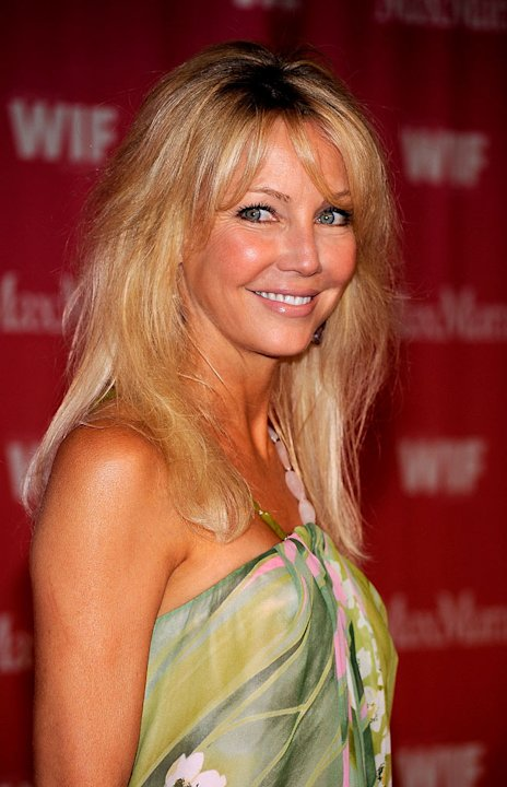 Heather Locklear arrives at the Women In Film 2009 Crystal And Lucy Awards at the Hyatt Regency Century Plaza Hotel on June 12, 2009 in Century City, California.