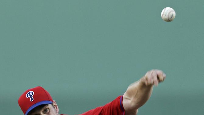 Lee to start Phils' opener at Texas on March 31
