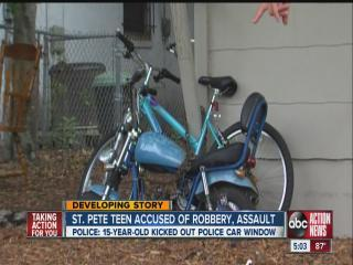 Police: Boy, 12, robbed by 15-year-old with gun
