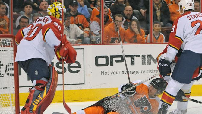 NHL: Florida Panthers at Philadelphia Flyers