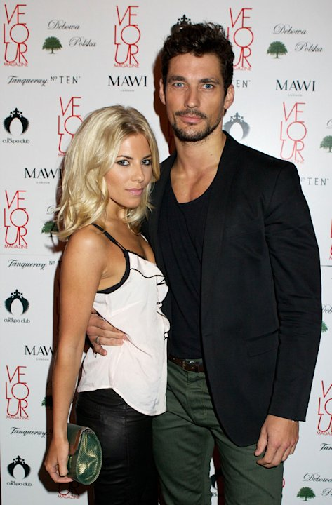 Celebrity splits 2012: The Saturdays Mollie King and her model boyfriend David Gandy were one of the prettiest celeb couples of all time. However, they ended their relationship after nine months citi