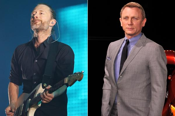 Thom Yorke Talks Radiohead, Atoms for Peace With Daniel Craig