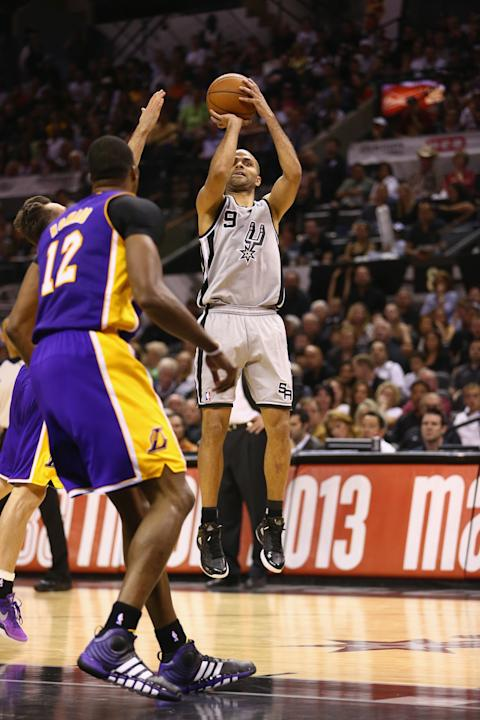 Los Angeles Lakers v San Antonio Spurs - Game One
