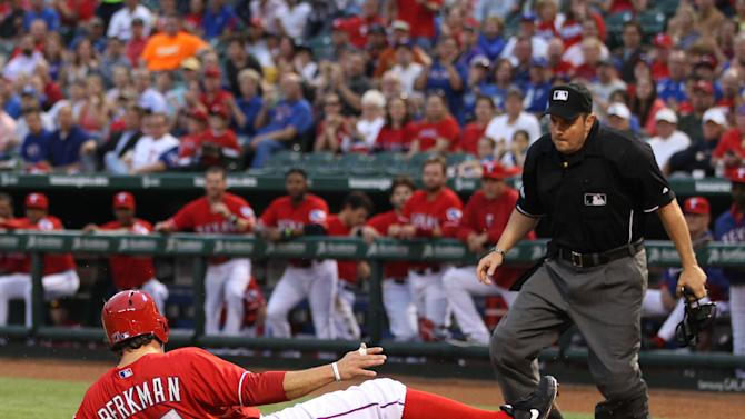 MLB: Tampa Bay Rays at Texas Rangers