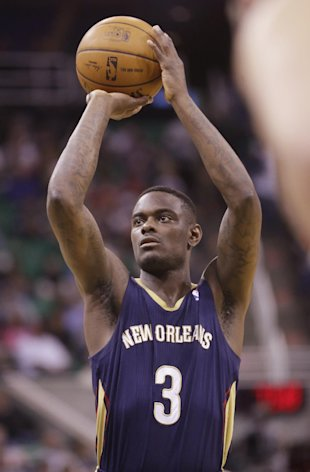 Anthony Morrow lines one up. (AP/Rick Bowmer)