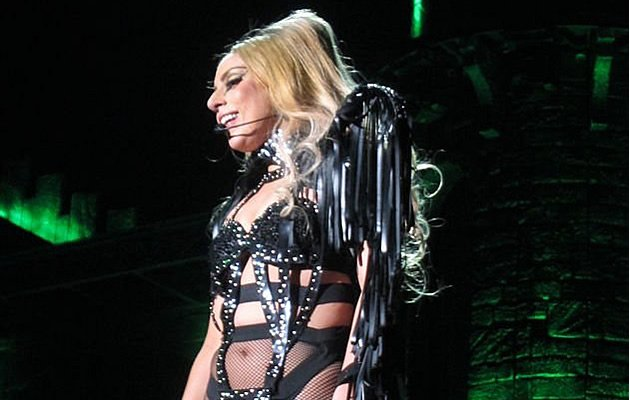Lady Gaga at the Born This Way Ball (Photo courtesy of Vivian Tsui)