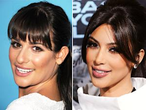 "Lea Michele to Kim Kardashian: ""Do We Kinda Look Alike?"""