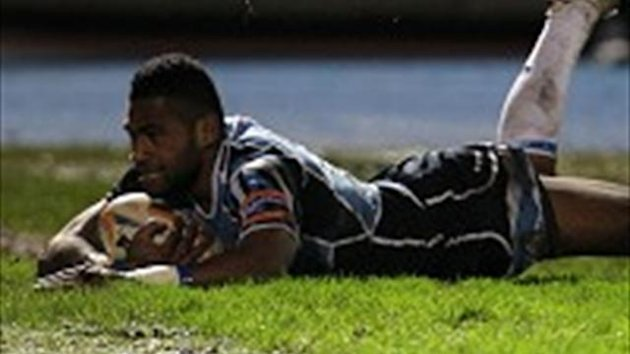 Niko Mapawalu scored Glasgow's fourth try against Treviso