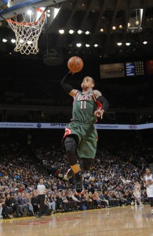 Jennings, Ellis lead Bucks past Warriors, 103-93