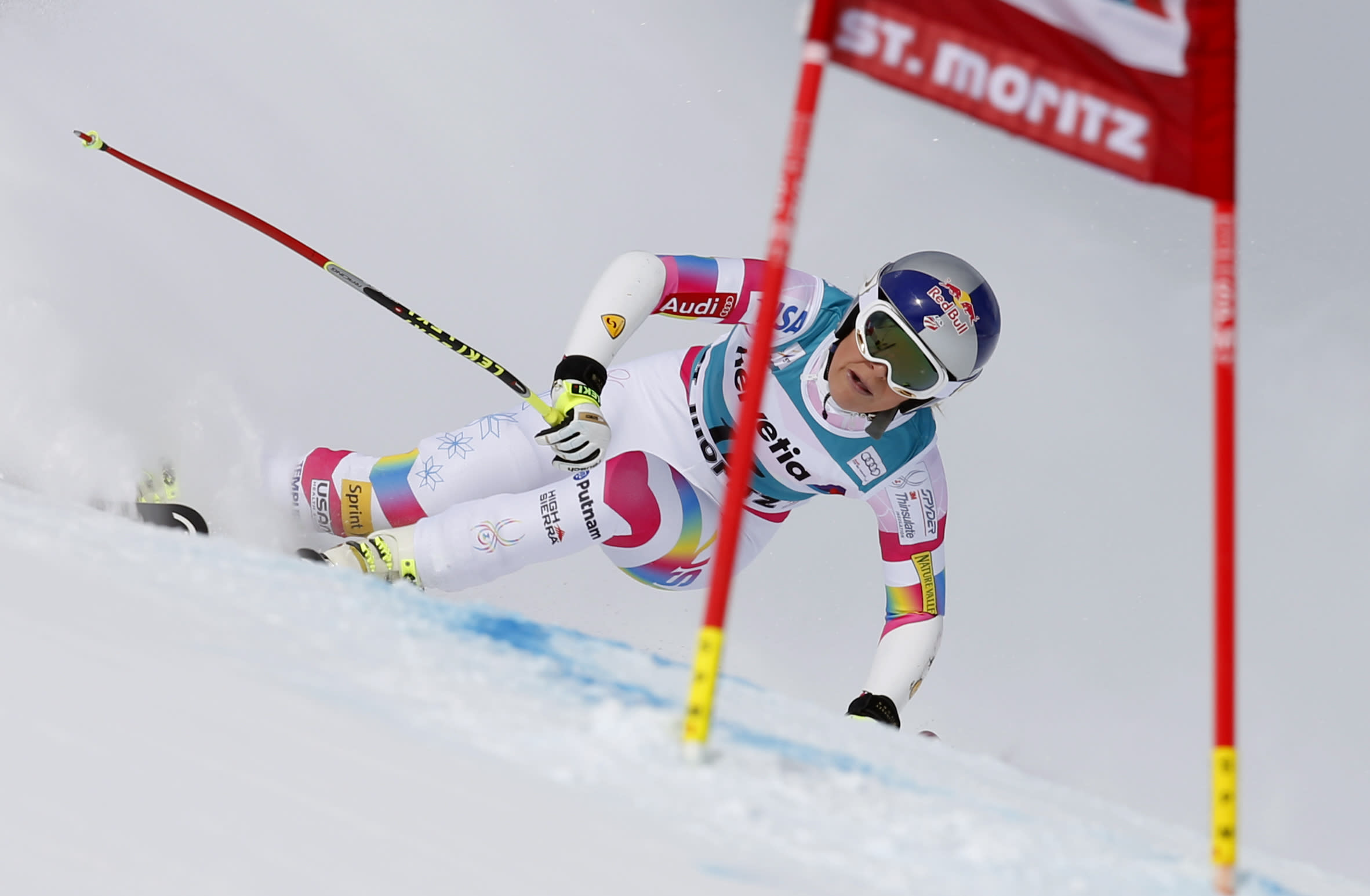 Lindsey Vonn heads home for world champs in winning shape