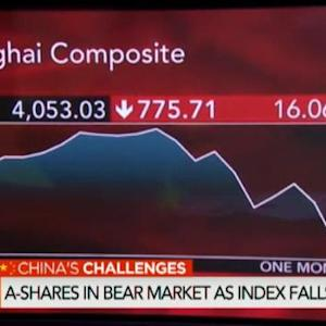 China A-Shares in Bear Market as Index Falls 22%