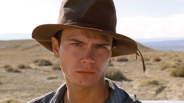 River Phoenix in 'Dark Blood'