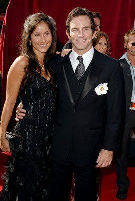 Jeff Probst with Julie Berry 57th Annual Emmy Awards Arrivals - 9/18/2005