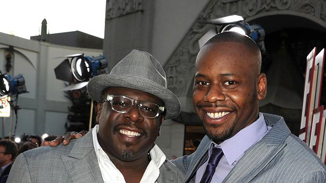 Larry Crowne LA Premiere 2011 Cedric the Entertainer Malcolm Barrett
