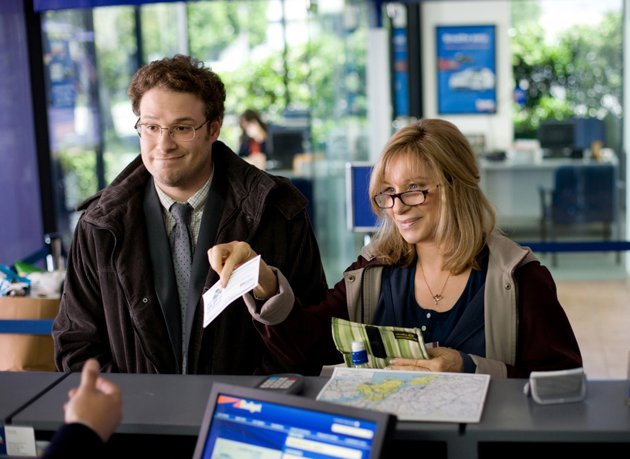 Seth Rogen and Barbra Streisand in &amp;#39;The Guilt Trip&amp;#39;