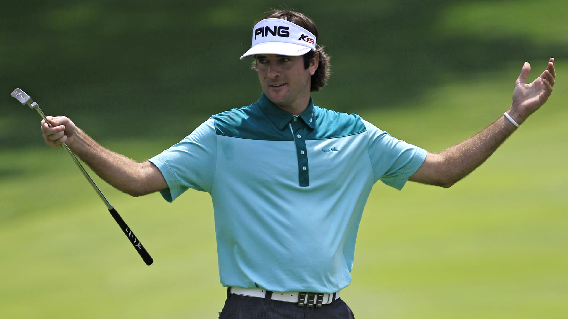 Mad Dash: Bubba Watson pulls off trick shot, amateur does not