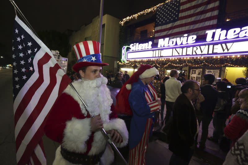 Sony's 'Interview' draws U.S. moviegoers who trumpet free speech