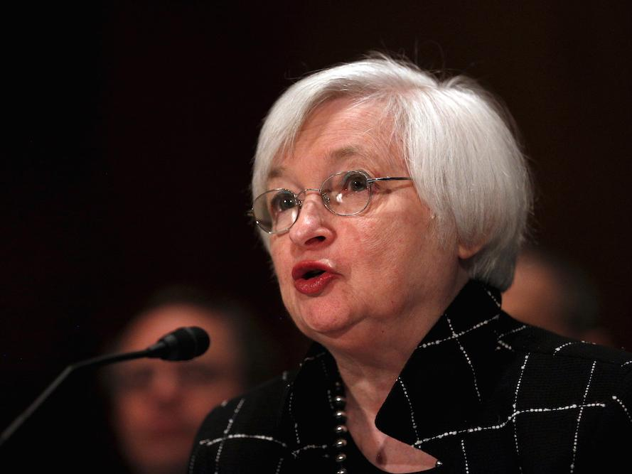 YELLEN: The Fed is thinking about negative rates