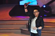 Aiza Seguerra got the Female Recording Artist of the Year Award during the 4th PMPC Star Awards for Music held at the Meralco Theater in Pasig city on 09 September 2012. (George Calvelo/NPPA Images)