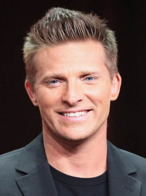 Steve Burton speaks onstage at the 'General Hospital' panel during day 6 of the Disney ABCTelevision Group portion of the 2012 Summer TCA Tour at The Beverly Hilton Hotel on July 26, 2012 -- Getty Images