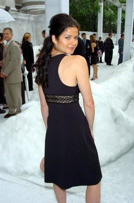 Jill Hennessy at the New York premiere of Twentieth Century Fox's The Day After Tomorrow