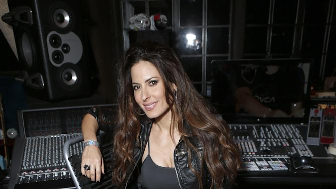 Kerri Kasem attends the 98.7 Saves Christmas Party at The House of Rock on Wednesday, Dec. 5, 2012, in Los Angeles, Calif. (Photo by Todd Williamson/Invision for House of Rock/AP)