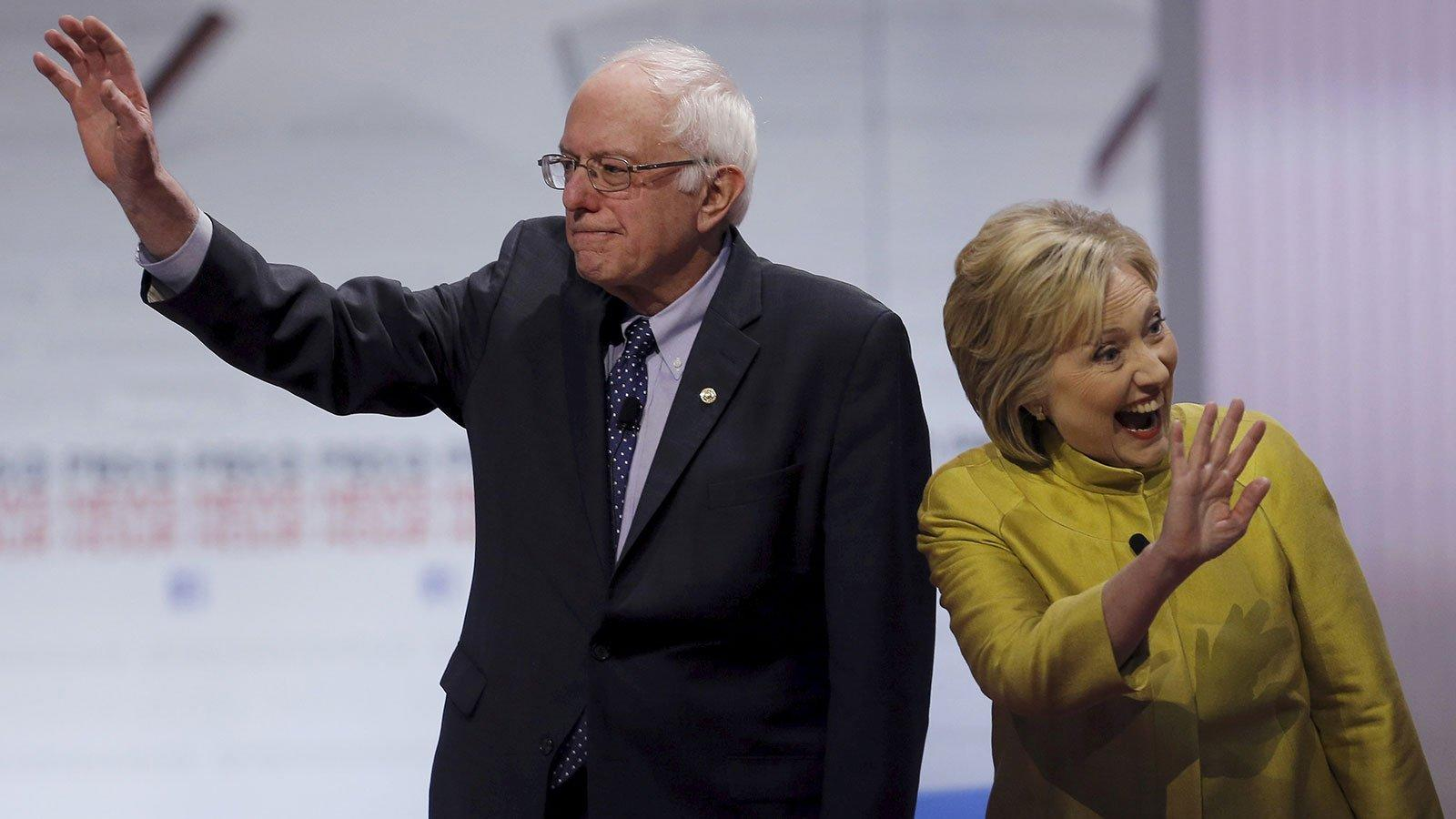 Is This Why Bernie Sanders Is Going Easy on Hillary?