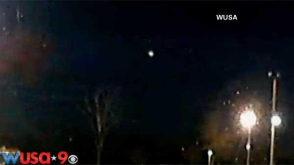 Possible East Coast meteor caught on camera