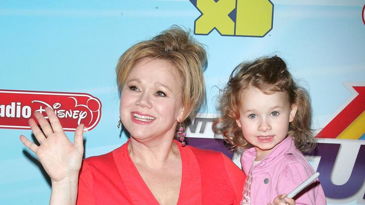 Caroline Rhea and daughter Ava