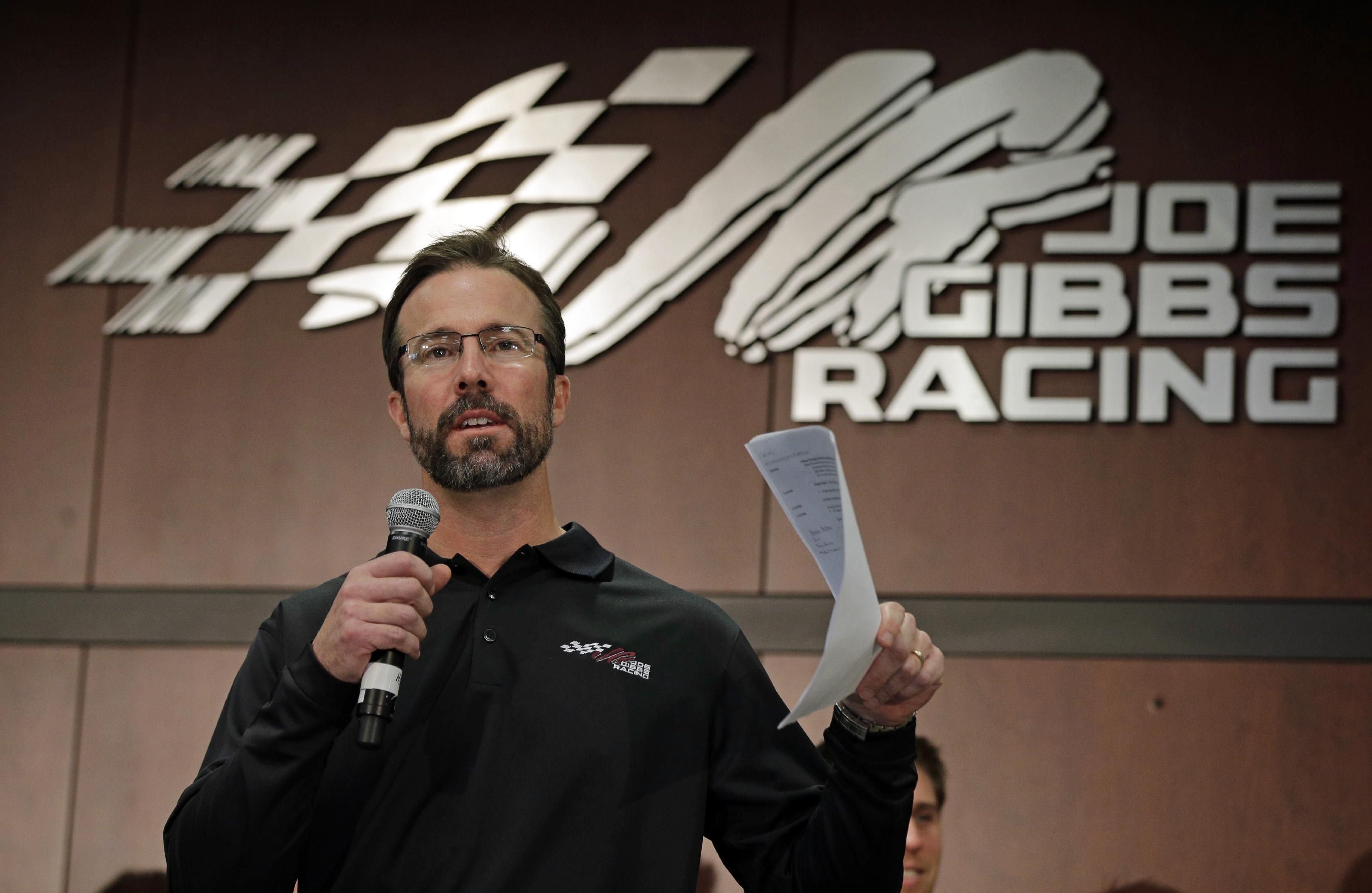 JGR announces J.D. Gibbs getting treatment for brain issues