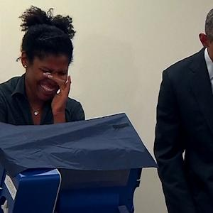 Voter Tells President Obama: 'Don't Touch My Girlfriend'