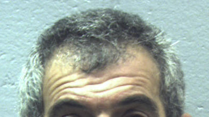 This undated booking photo released by the Two Bridges Regional Jail in Wiscasset, Maine, shows James Cavallaro of Bath, arrested after he attempted to grab a 2-year-old girl at the Maine State Museum Tuesday, Dec. 16, 2014 in Augusta, Maine. (AP Photo/Two Bridges Regional Jail)