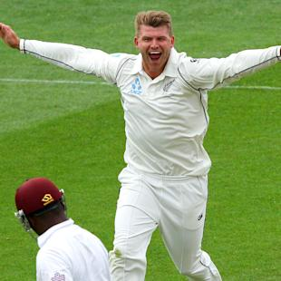 Anderson takes two wickets as Windies battle