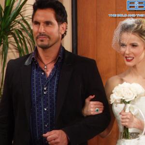 The Bold and The Beautiful - Rick And Caroline's Wedding