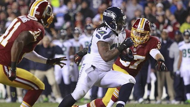 Seahawks, Washington Redskins, Marshawn Lynch