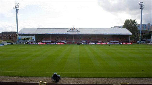The SPL game at Firhill between Partick Thistle and St Johnstone was abandoned