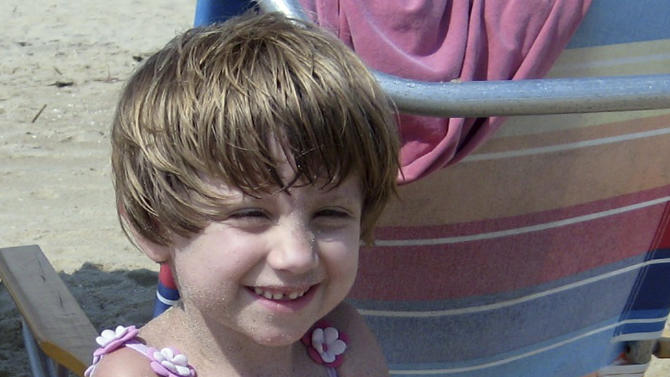 """This undated photo provided by the Gay family shows Josephine Gay, killed Dec. 14, 2012, when a gunman opened fire at Sandy Hook Elementary school in Newtown, Conn.  Her parents, Michele and Bob Gay, have set up """"Joey's Fund"""" in her memory through the Doug Flutie Jr. Foundation for Autism to help other families raising children with autism. (AP Photo/The Gay Family)"""